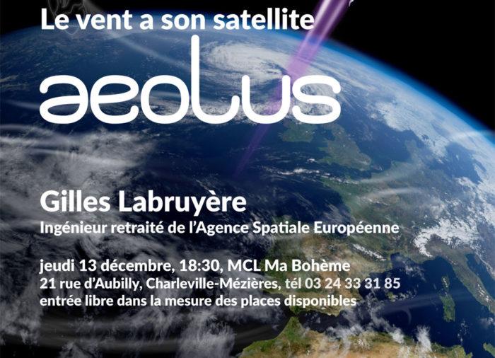 Le vent a son satellite Aeolus