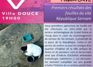 Premiers résultats des fouilles du site République Sernam