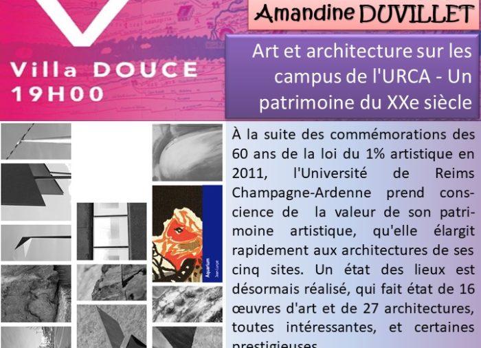 Arts et architecture sur les campus de l'URCA – un patrimoine du XXe siècle
