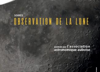 Soirée observation de la lune
