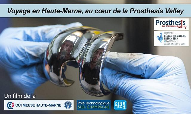 Voyage en Haute-Marne, au cœur de la Prosthesis Valley – reporté