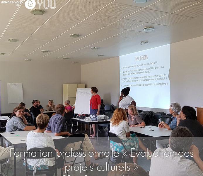 Formation : évaluation des projets culturels