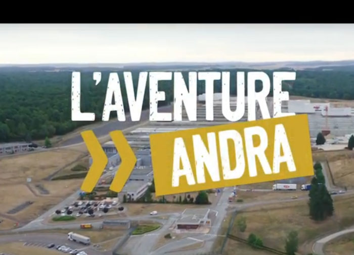 Vivez l'aventure Andra !
