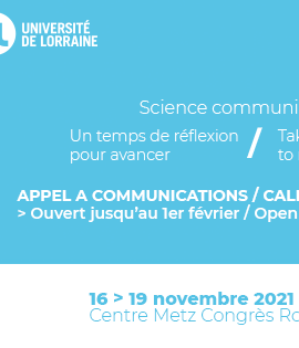 Science & You : appel à communication