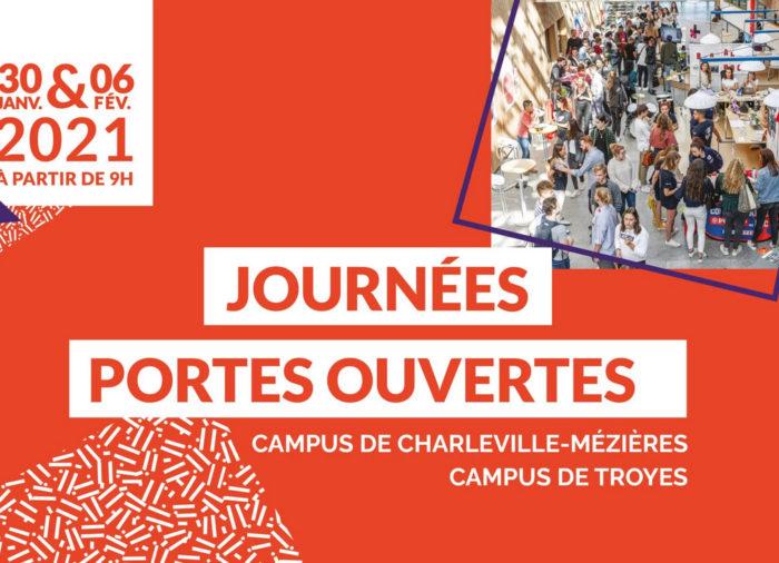 Journées Portes Ouvertes à South Champagne Business School