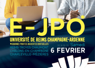 E-JPO à l'Université de Reims Champagne-Ardenne