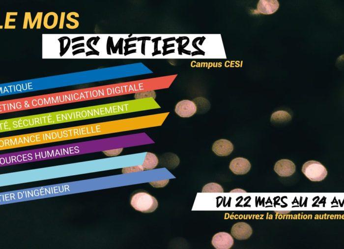 Le mois des métiers à Cesi Campus Reims